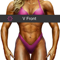 Bottom Front Style: 'V' cut