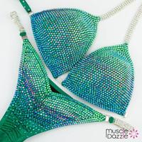 Aqua Green Competition Bikini