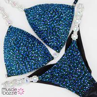 Teal Competition Bikini
