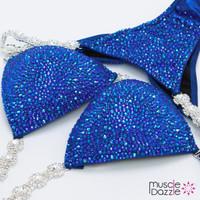Sapphire Blue Competition Bikini