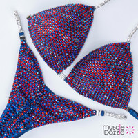 Sapphire and Ruby Competition Bikini