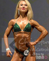 Emerald Green Competition Bikini