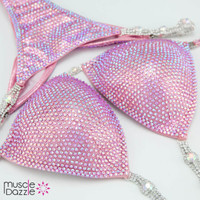 Baby Pink Competition Bikini