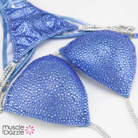 Light Sapphire Competition Bikini