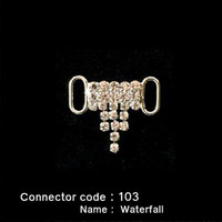 Middle Connector for Bikini Top - Waterfall style (103)