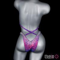 Purple Figure Competition Suit