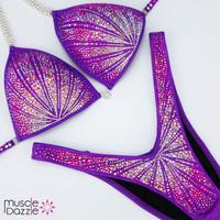 Purple Figure Suit