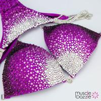Purple Bikini Competition Suit