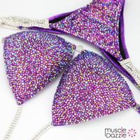 Purple Competition Bikini