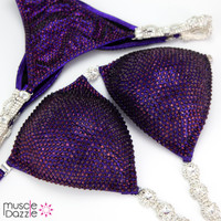 Deep Purple Competition Bikini