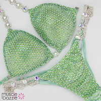 Light Green Competition Bikini