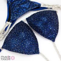Dark Blue Competition Bikini