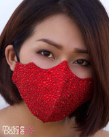 Red Crystal Mask (FM001-RD)