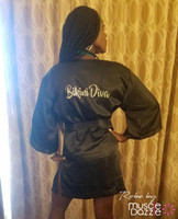 Personalized competition robe - Choose from 5 colors (RB203)