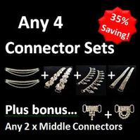 Cheap Rhinestone Bikini Connectors