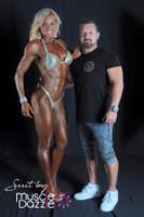 Gold Figure Competition Suit