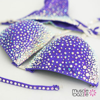 Purple Lavender Competition Bikini