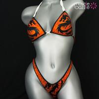 Dragon Figure Competition Suit
