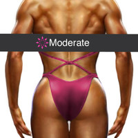 Figure Suit Back Coverage - Moderate Cut