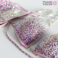 Baby Pink Crystal Bikini (CB102)