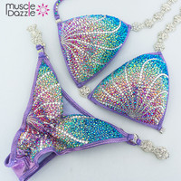 Purple Crystal Bikini (CB119)