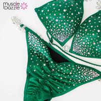 Green Crystal Bikini