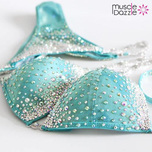 Mint Crystal Competition Bikini