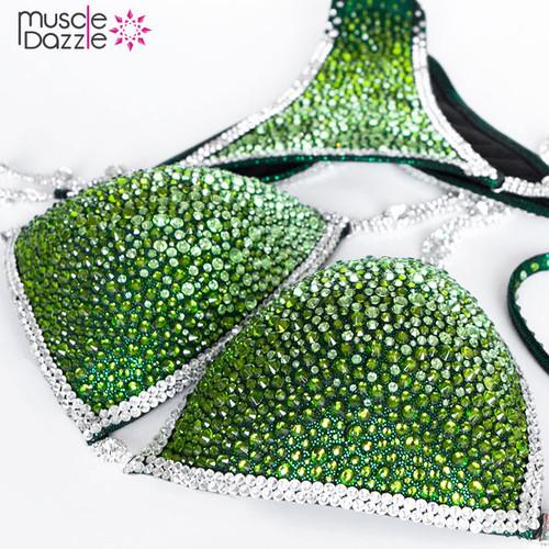 Green Crystal Competition Bikini (CB225)