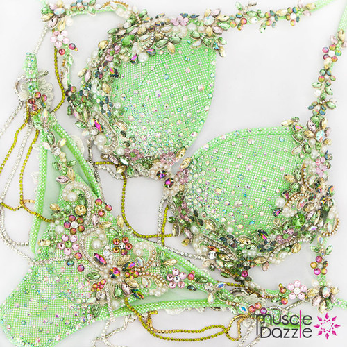 Light Green Diva Model Bikini (DV006)