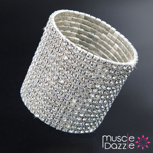 Silver Stretch Bracelet | Women's Bikini Competition Jewelry