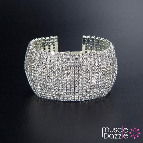 Rhinestone Bracelet | IFBB Bikini Competition Jewelry
