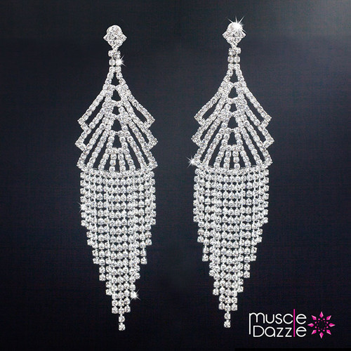 Chandelier Earrings | Figure Competition Jewelry