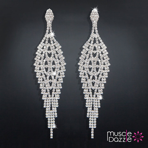 Dangling Tassel Earrings | NPC Bikini Competition Jewelry