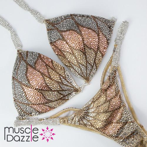 Pattern Competition Bikini