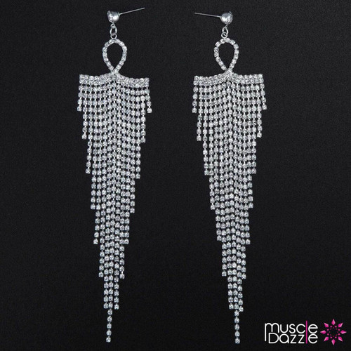 Tassel Earrings | Bikini Competition Jewelry