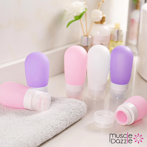 Silicone Travel Toiletry Bottles