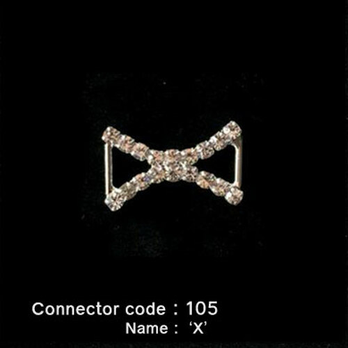 Middle Connector for Bikini Top - 'X' Style (105)
