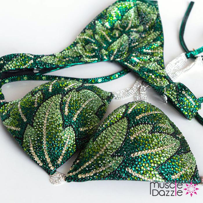 Green Poison Ivy Figure Suit