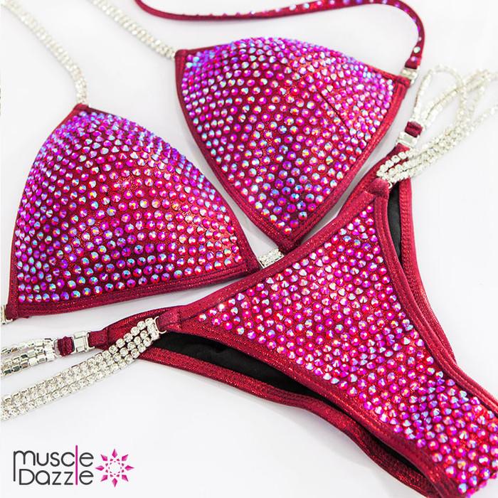 Ruby Red Competition bikini