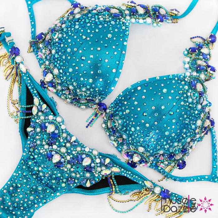 Blue Theme Wear Diva Bikini