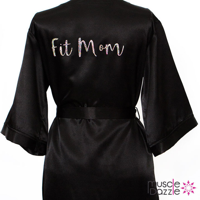 Fit Mom bikini or figure competition robe