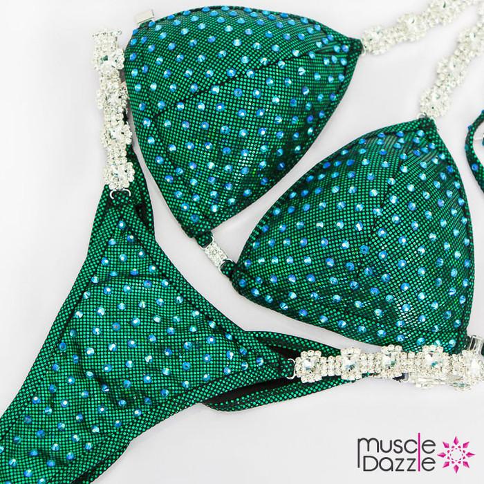 Affordable Green Competition Bikini (CB569)