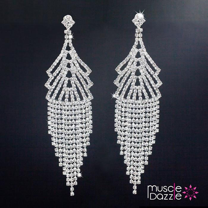 Chandelier Earrings | Figure Competition Jewelry