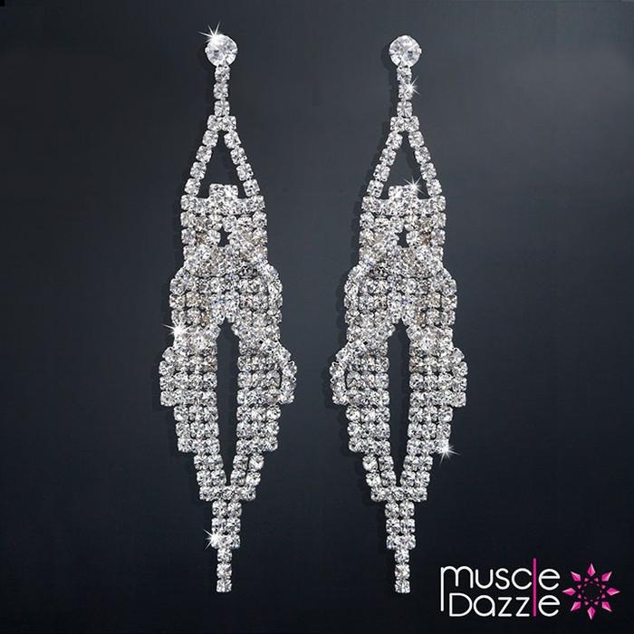 Dangling Earrings | Affordable Bikini Competition Jewelry