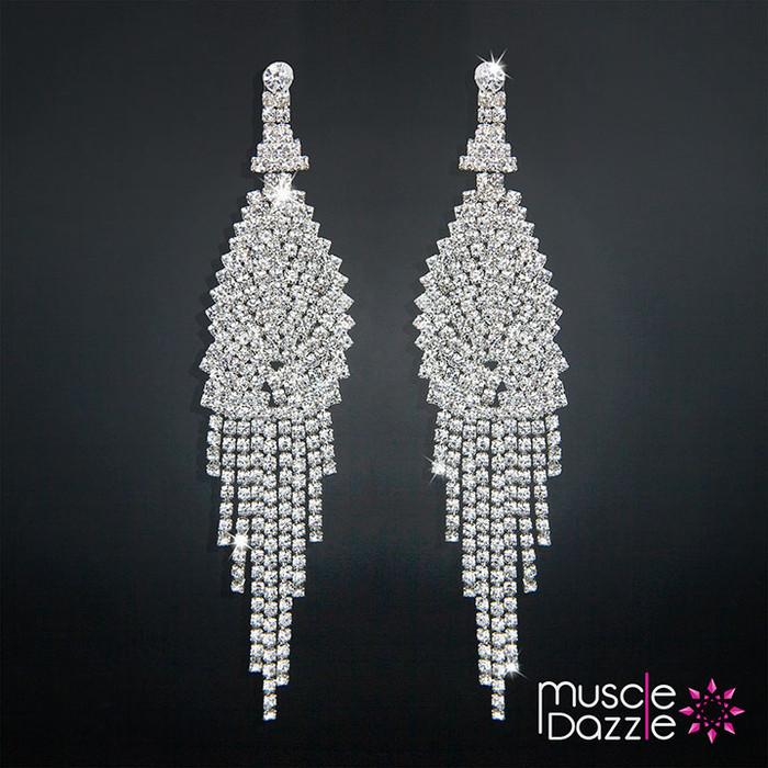 Earrings   Bikini Competition Jewelry