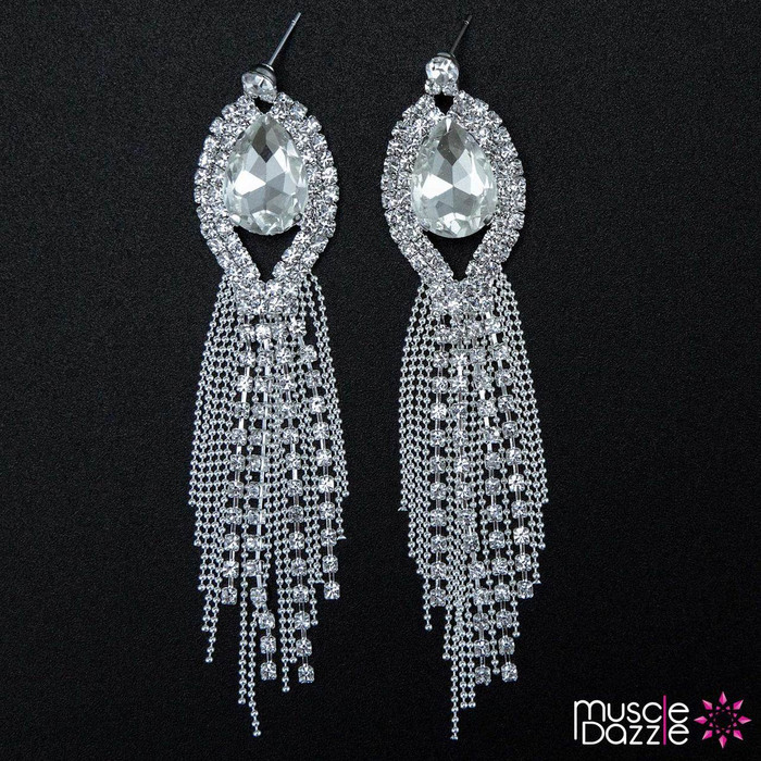 Earrings for Bikini Competition