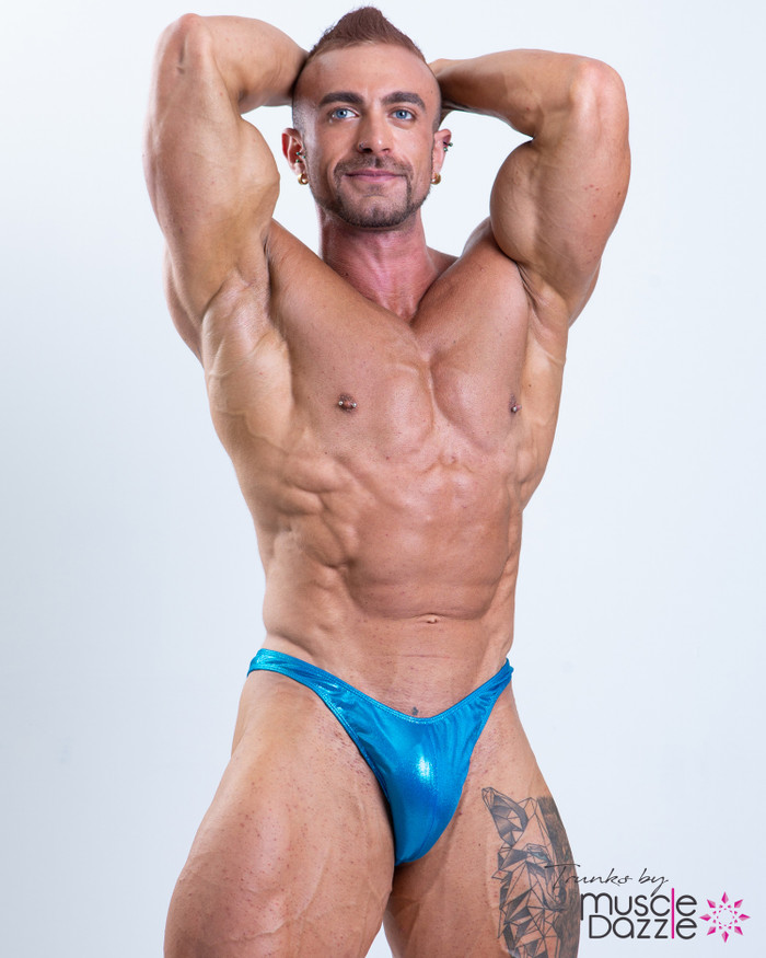 Light Blue Posing Trunks