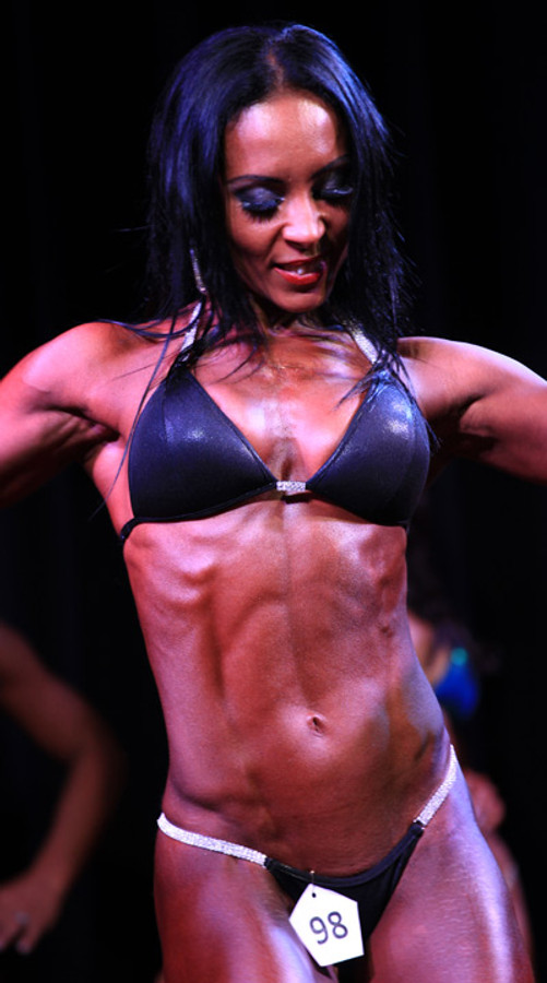 Black Competition Bikini - worn by Cristina Ramon