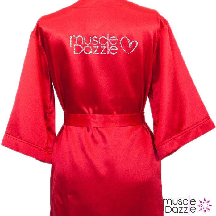 Red Valentine's Edition Bikini Competition Robe