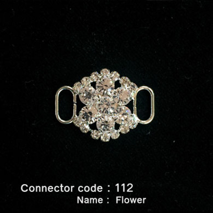 Middle Connector for Bikini Top - Flower Style (112)